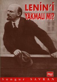 Lenin'i Yakmalı mı? Kitap Kapağı
