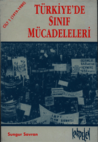 Türkiye'de Sınıf Mücadeleleri Kitap Kapağı