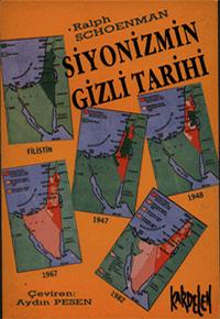 Siyonizmin Gizli Tarihi Kitap Kapağı